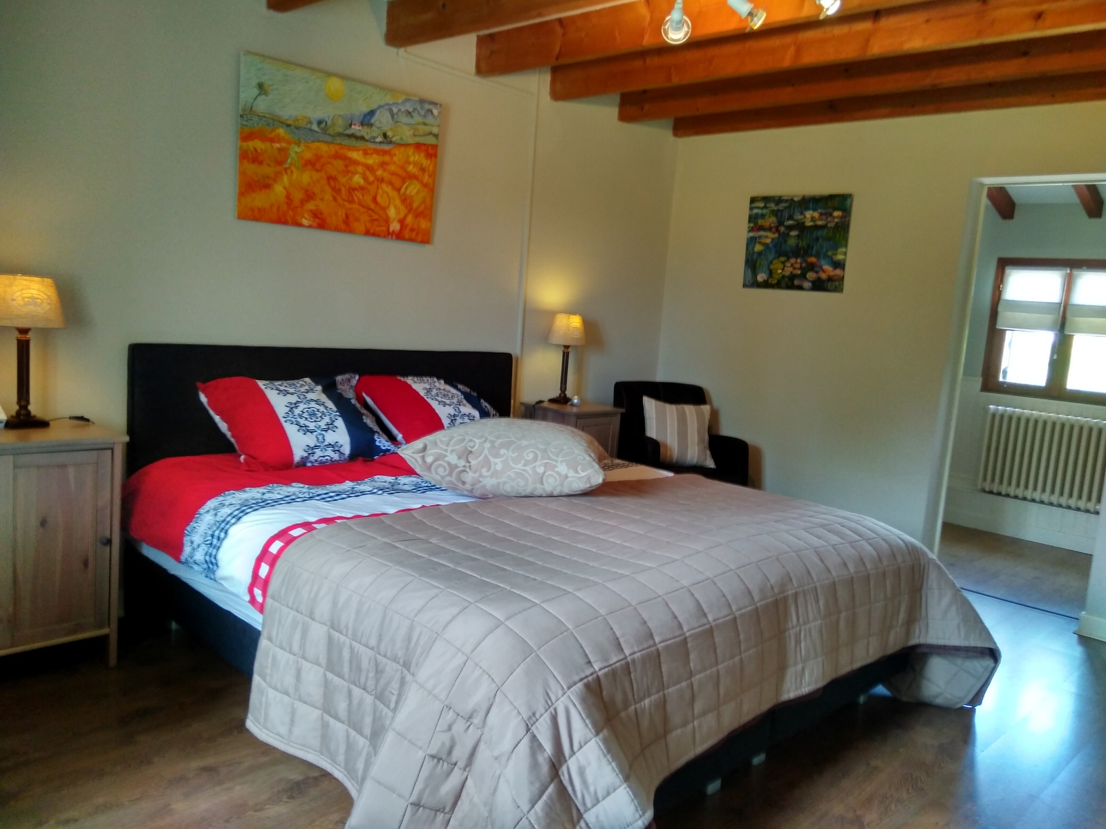 chambres avec lit king-size